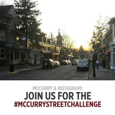 Join us for the #McCurryStreetChallenge!