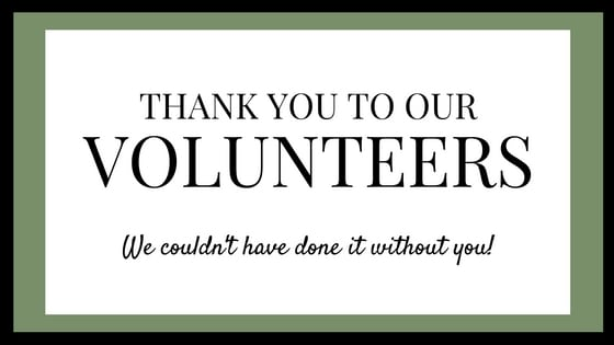 Thank you to our 2016 Michener Art Museum volunteers!