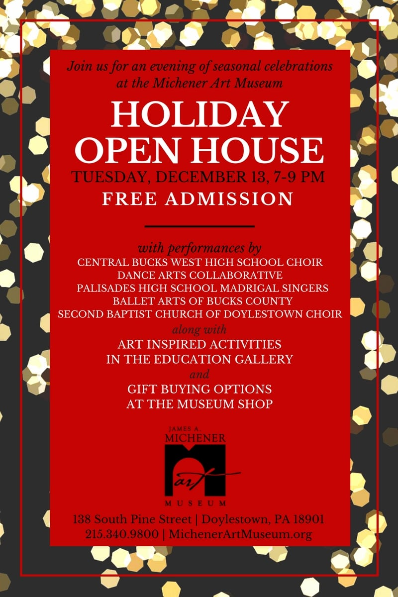 Join us as we celebrate the season at our annual Holiday Open House!