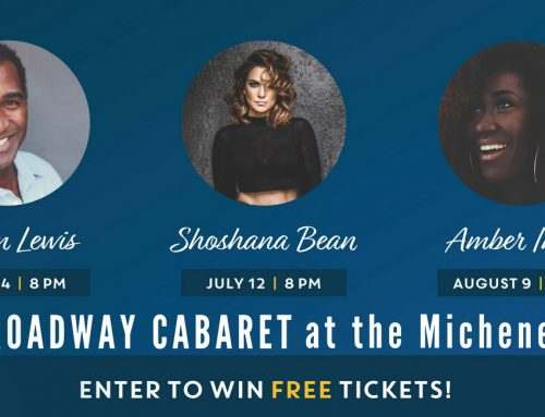 Announcing our final round of winners: Shoshana Bean at the Michener