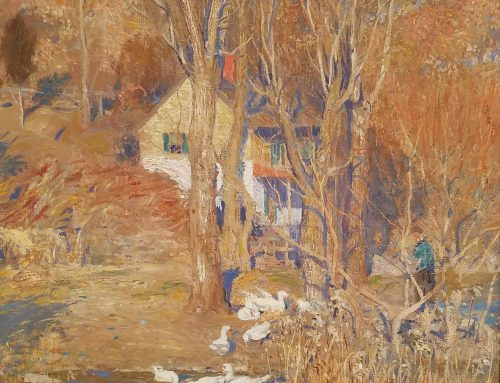 Nature Through the Eyes of a Romantic Realist:  A Study on Daniel Garber's Landscapes